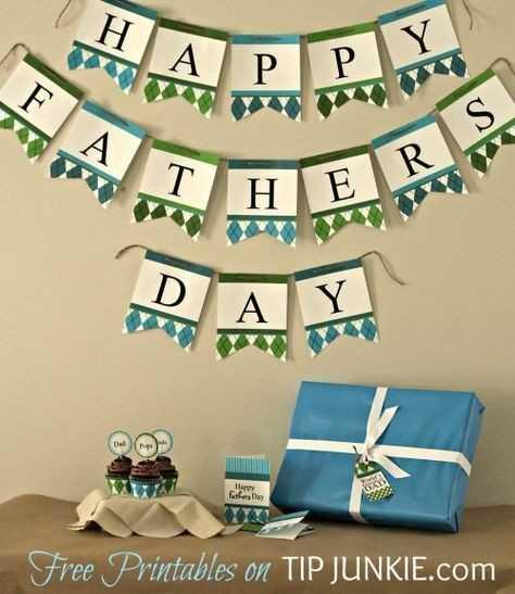 హ్యాపీ ఫాథర్స్ డే - Fathers Day Free Printables on TIP JUNKIE . com - ShareChat