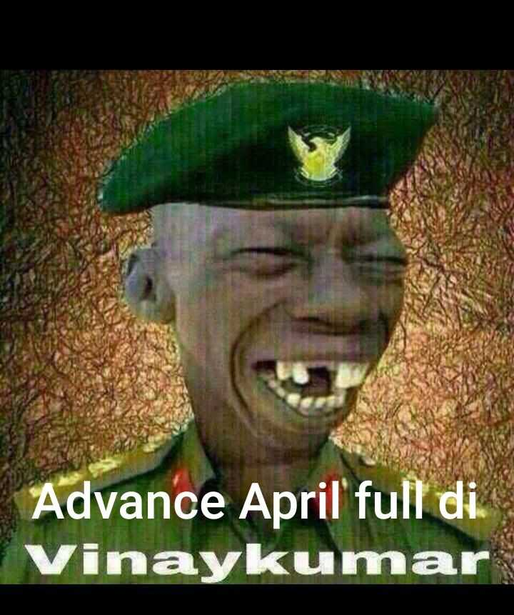 ಕಲರ್ಫುಲ್ ಏಪ್ರಿಲ್ ಫೂಲ್ - Advance April ' full di . Vinaykumar - ShareChat