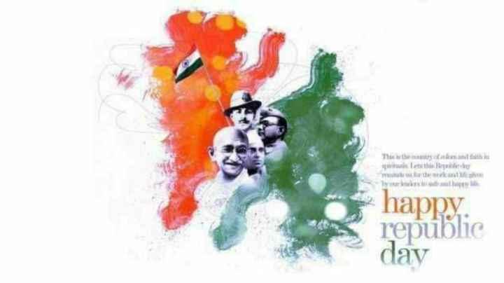 📱ಗಣರಾಜ್ಯೋತ್ಸವದ ಸ್ಟೇಟಸ್ - They of the ஓராயன் Inithi   ரோபர் The third ill w happy : republic day - ShareChat