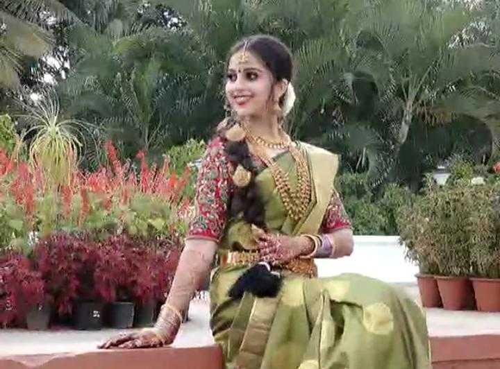 ನಿವೇದಿತಾ ಚಂದನ್ ನಿಶ್ಚಿತಾರ್ಥ - ShareChat