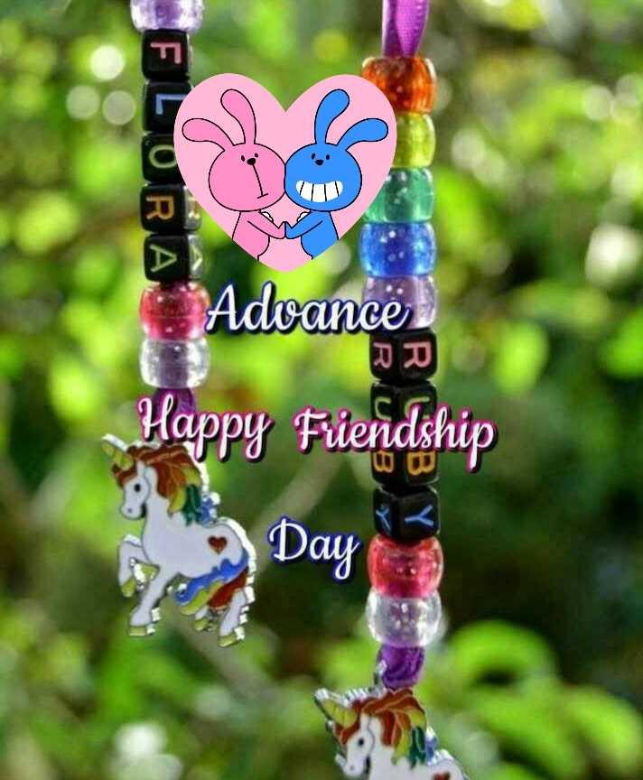 🤝ಫ್ರೆಂಡ್ ಶಿಪ್ ಸ್ಟೇಟಸ್ - BLURAN Advancë Happy Fiendship - ShareChat