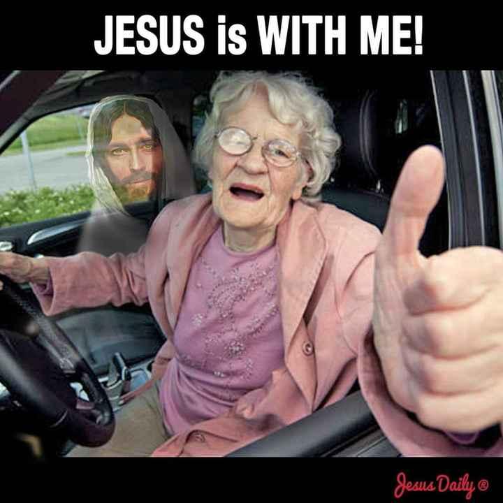 ಯೇಸುವೆ ಸ್ತೋತ್ರ - JESUS IS WITH ME ! Jesus Daily @ - ShareChat