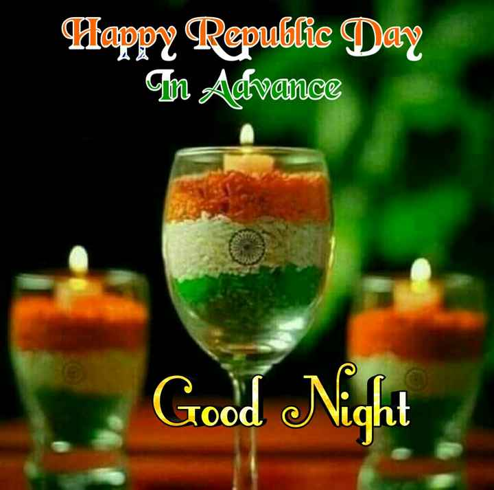 🌃ಶುಭರಾತ್ರಿ - Happy Republic Day m Advance Good Night - ShareChat