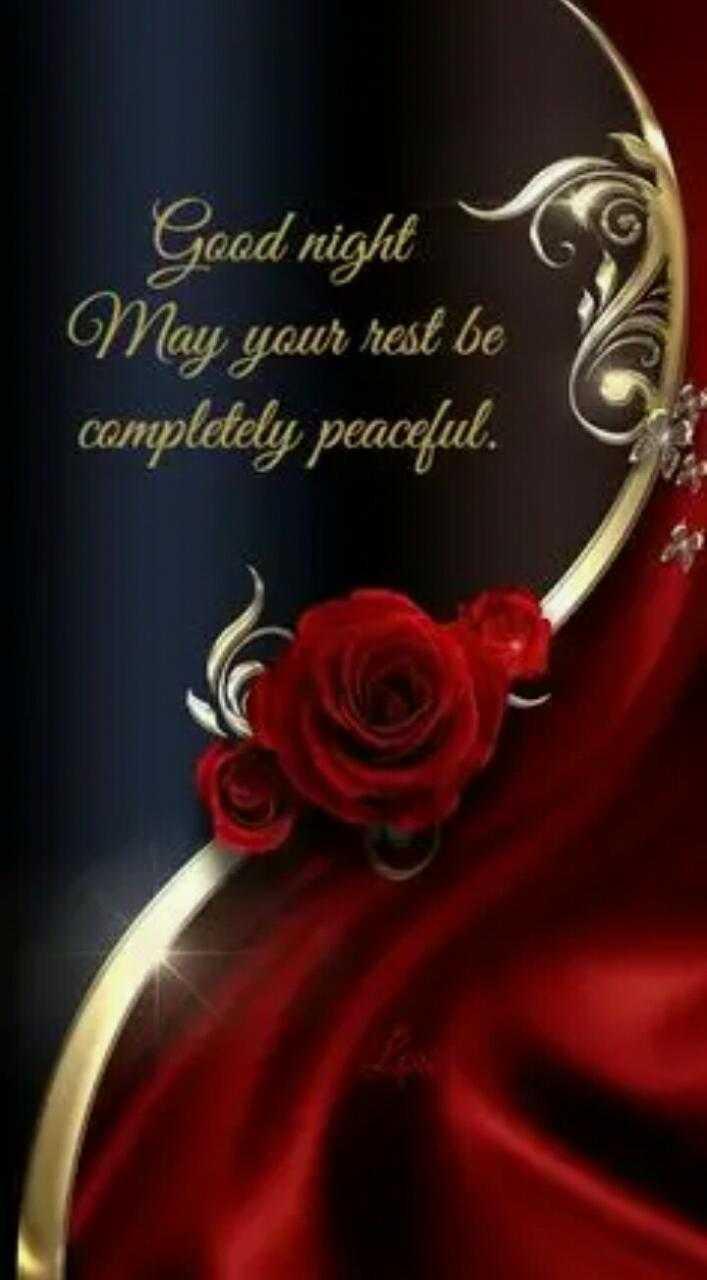 🌃ಶುಭ ರಾತ್ರಿ - Good night May your rest be completely peaceful . - ShareChat