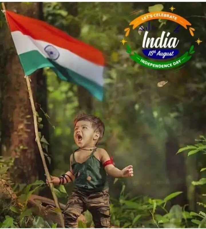 🇮🇳 ಸ್ವಾತಂತ್ರ ದಿನೋತ್ಸವ - CELEBRATE India 154 August - INDEPE DEPENDENCE NCE DAY - ShareChat