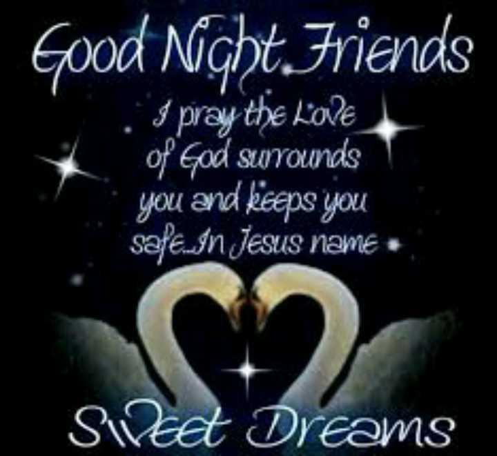 🌃 ഗുഡ് നൈറ്റ് - Good Night Friends . 3 pray the LOVE of God surrounds you and keeps you safe . In Jesus name . Sidest Dreams - ShareChat