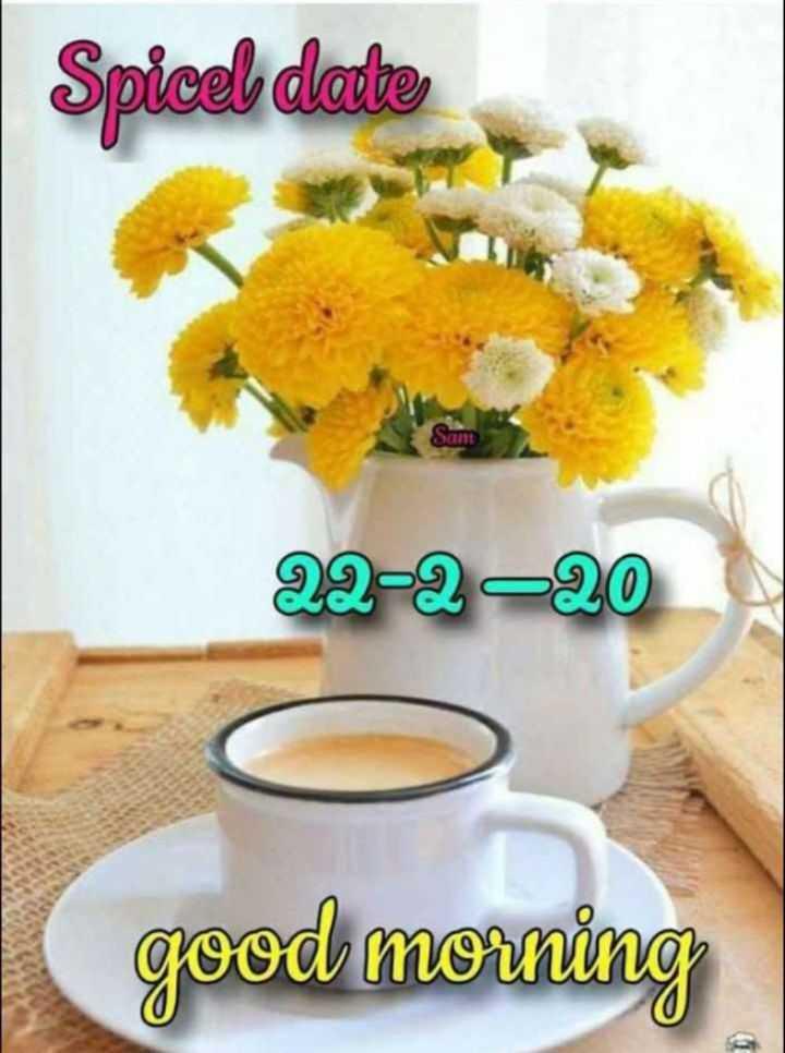 🌞 ഗുഡ് മോണിംഗ് - Spicel date Sant 22 - 2 - 20 good morning - ShareChat
