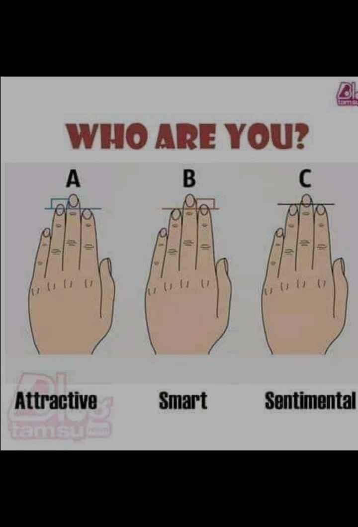 💫 ജ്യോതിഷം - WHO ARE YOU ? es Ju ull Attractive Smart Sentimental - ShareChat