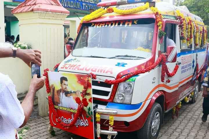 ബാലഭാസ്കറിൻ്റെ അപകടം - VADAM , THYLENE In H - OLMAK ് പ്പെട്ട ബാലഭാസ്കറി രാറ് - ShareChat