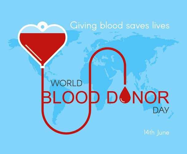 രക്തദാനം മഹാദാനം - Giving blood saves lives WORLD BLOOD DONOR DAY 14th June - ShareChat