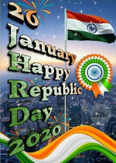 🇮🇳 റിപ്പബ്ലിക് ഡേ സ്റ്റാറ്റസ് - Nanuary Happy Republic prnv _ creation Day | 12020 / - ShareChat