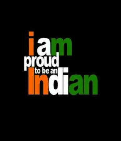 🇮🇳 റിപ്പബ്ലിക് ഡേ സ്റ്റാറ്റസ് - la . proud Indian to be an - ShareChat
