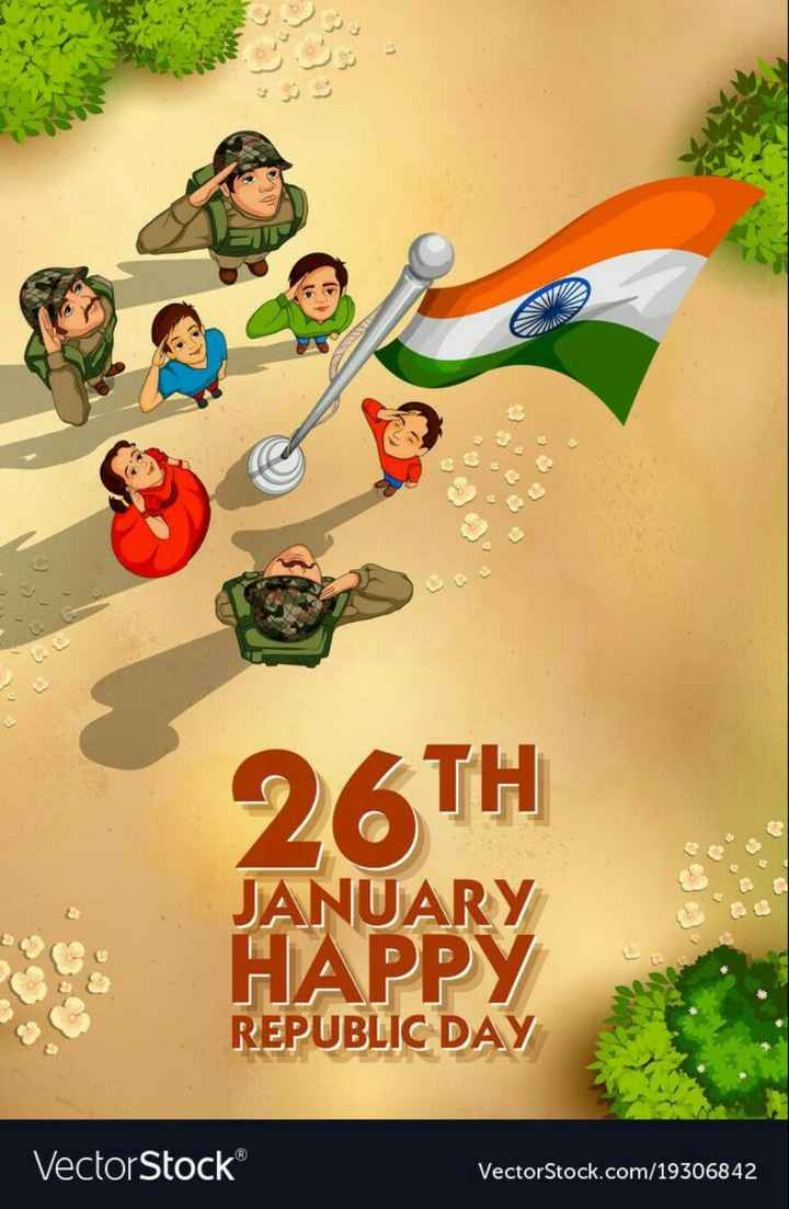 🇮🇳 റിപ്പബ്ലിക് ദിനം - 26TH JANUARY HAPPY REPUBLIC DAY VectorStock VectorStock . com / 19306842 - ShareChat