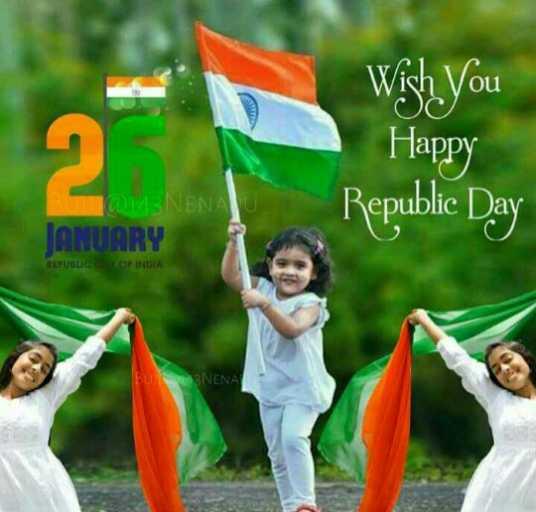 🇮🇳 റിപ്പബ്ലിക് ദിനം - Wish You Happy AU Republic Day JANUARY REPUBLIC OF INDIA Bu 3NENA - ShareChat