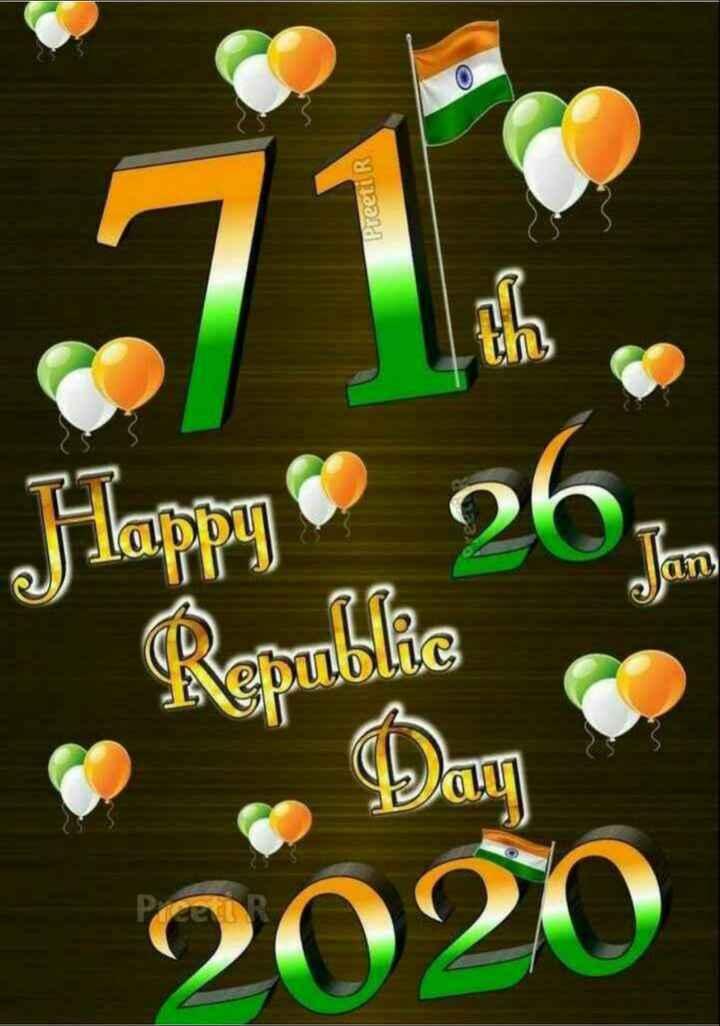 🇮🇳 റിപ്പബ്ലിക് ദിന പരേഡ് - Preeti R Happy 262 Jan 2020 - ShareChat