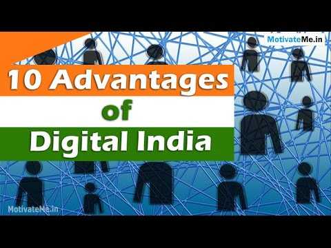 👨‍💻 ડિજિટલ ઇન્ડિયા - Motivate Me . in 10 Advantages of Digital India MotivateMe . in - ShareChat