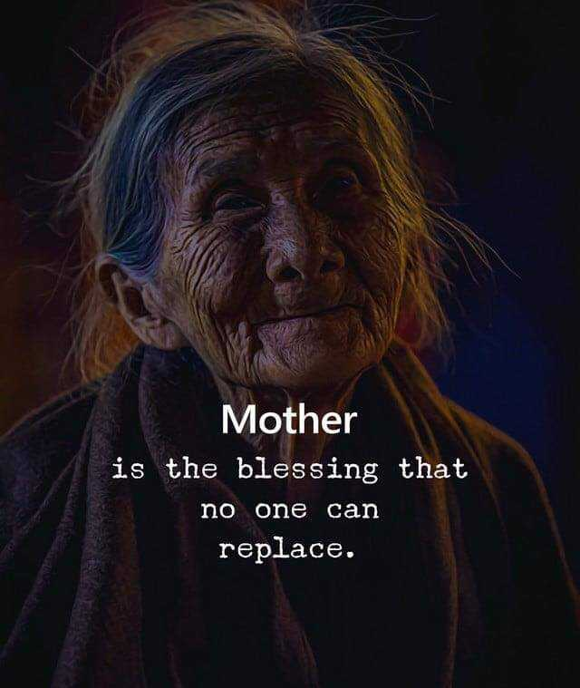 👨‍👦‍👦পরিবার - Mother is the blessing that no one can replace . - ShareChat