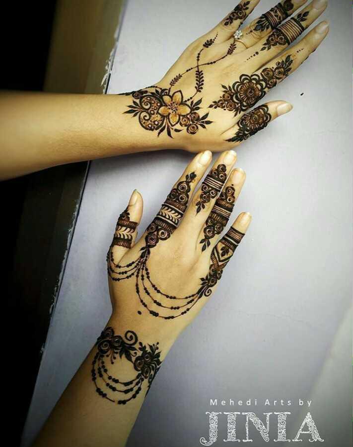 💁♀️ ગર્લ ફેશન - oc All Mehedi Arts by JINIA - ShareChat