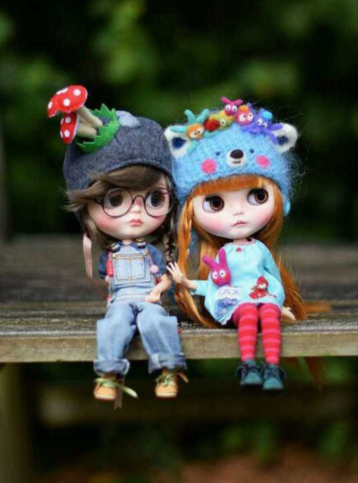 🧚‍♀️cute dolls - ShareChat