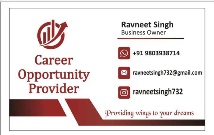 ✈️ ਦੁਨੀਆ ਦੀ ਸੈਰ - Ravneet Singh Business Owner + 91 9803938714 Career Opportunity Provider ravneetsingh732 @ gmail . com o ravneetsingh732 Providing wings to your dreams - ShareChat