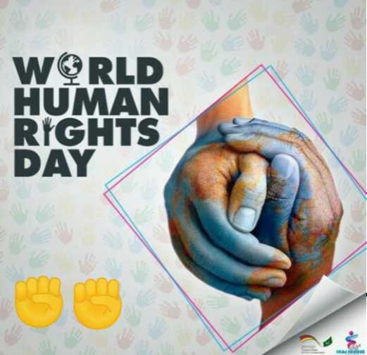 ✊ಮಾನವ ಹಕ್ಕುಗಳ ದಿನ - WORLD HUMAN RIGHTS DAY - ShareChat