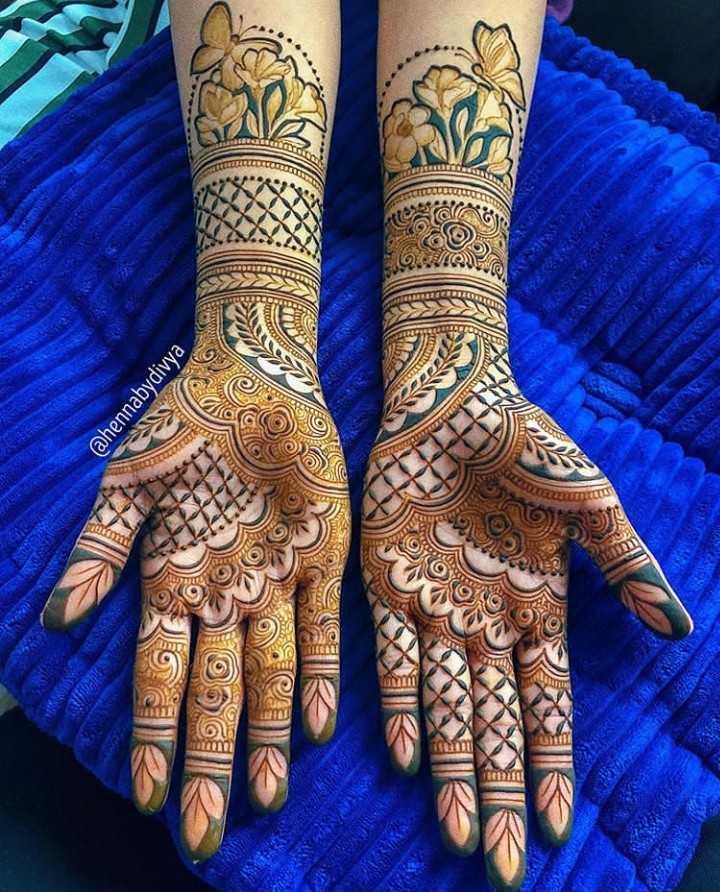 ✋ മൈലാഞ്ചി ഡിസൈന് - @ hennabydivya TULET CON G ETCOST ART Year DIDROTEREO - ShareChat