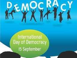 ✌️ अंतर्राष्ट्रीय लोकतंत्र दिवस - Me XX * * 1cY DEMOCRA International Day of Democracy 15 September - ShareChat