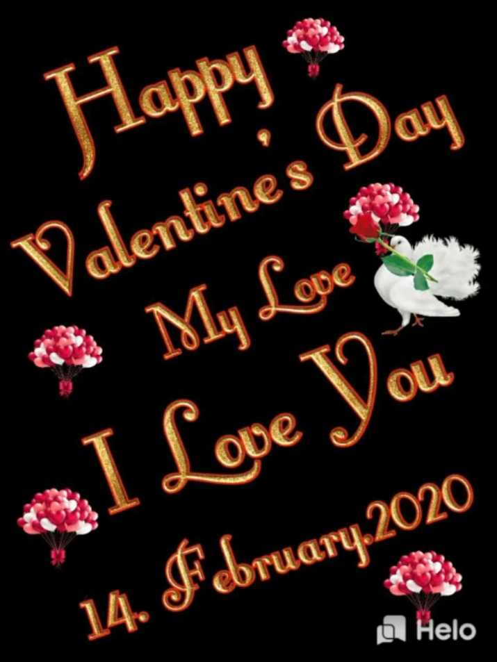 ✍ভ্যালেন্টাইনস ডে কোটস ❤ - Happy Valentine ' s Day My Love I Love You 14 . February . 2020 a - ShareChat