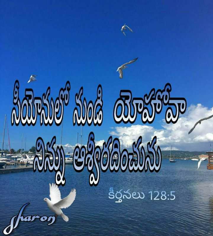 ✝జీసస్ - సరములో నుండి యోహోవా కీర్తనలు 128 : 5 - ShareChat