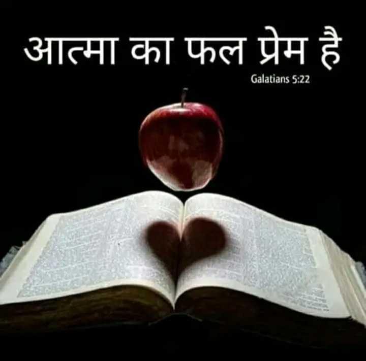 ✝️ प्रेयर ✝️ - ' आत्मा का फल प्रेम है Galatians 5 : 22 - ShareChat