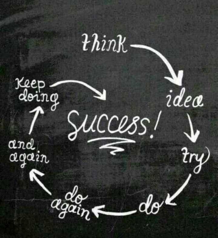 ❣എന്റെ സ്റ്റാറ്റസ്❣😊😍😎 - think Keep doing żdece tº success ! and again try To again dok - ShareChat
