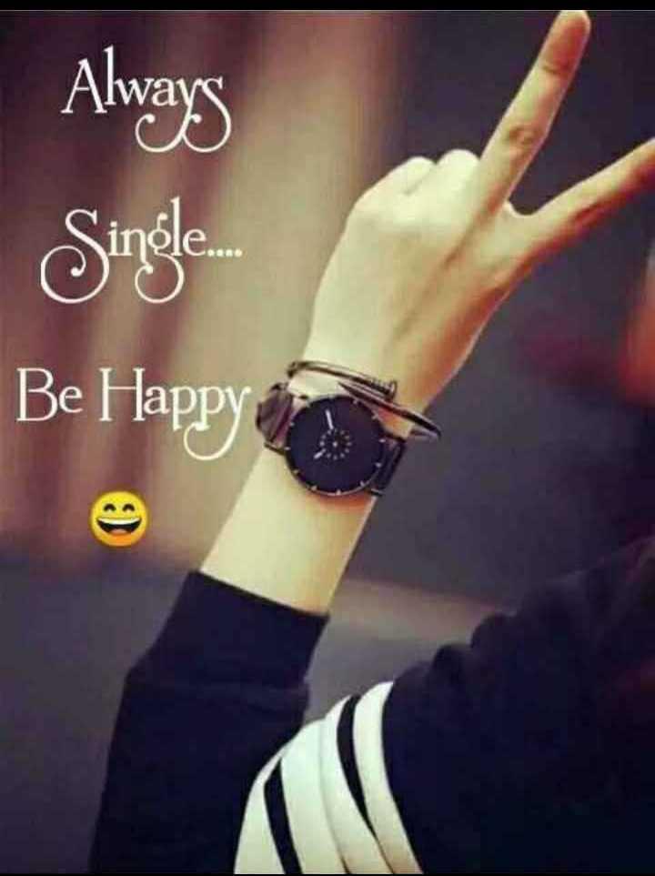 ❣എന്റെ സ്റ്റാറ്റസ്❣😊😍😎 - Always Single . Be Happy - ShareChat