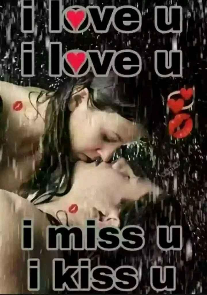❤miss you😔😔 - i love u . i love u i miss u i kiss U - ShareChat