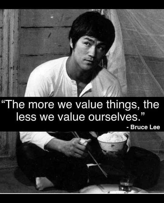 """➗ರಾಷ್ಟೀಯ ಗಣಿತ ದಿನ - HOND The more we value things , the less we value ourselves . """" - Bruce Lee - ShareChat"""