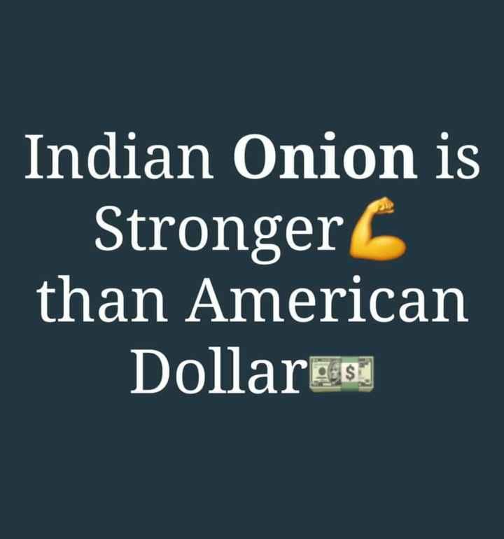 🗞️ਖਬਰਾਂ ਜ਼ਰਾ ਹਟਕੇ 😵 - Indian Onion is Stronger than American Dollar 225 - ShareChat