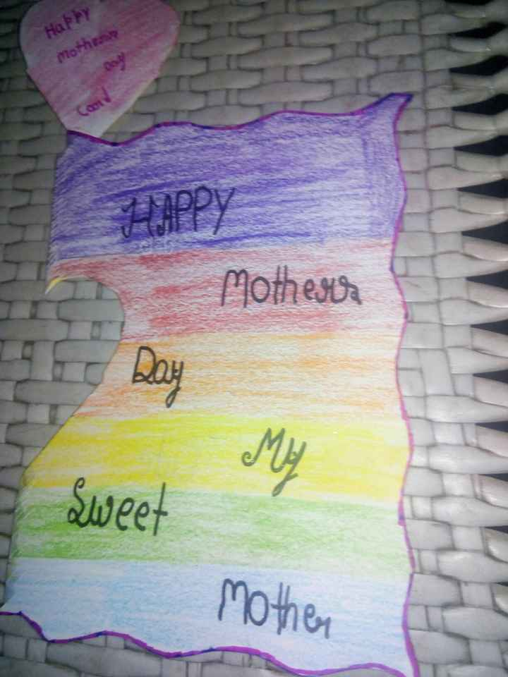 🖍️ ਮਾਂ ਦਿਵਸ drawing - Happy mother Mothers Sweet mother - ShareChat