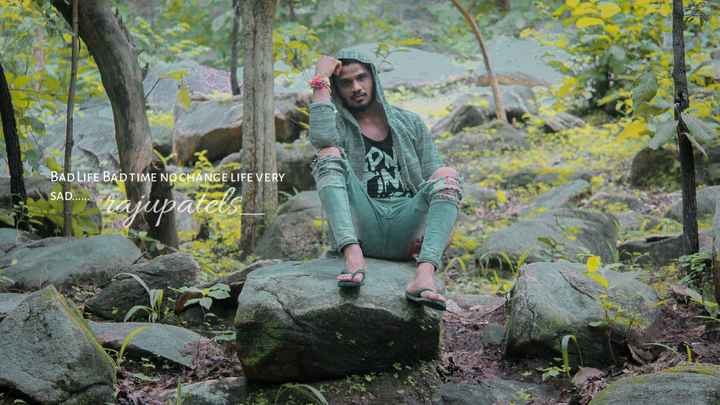 🏕️ કુદરતી ફોટોગ્રાફી - BAD LIFE BADTIME NO CHANGE LIFE VERY SAD . . . . . . ad rajupatels - ShareChat