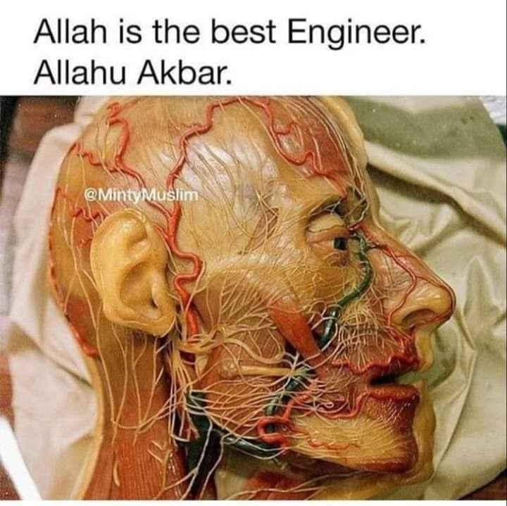 ☪️ ദുഅഃ - Allah is the best Engineer . Allahu Akbar . @ Minty Muslim - ShareChat