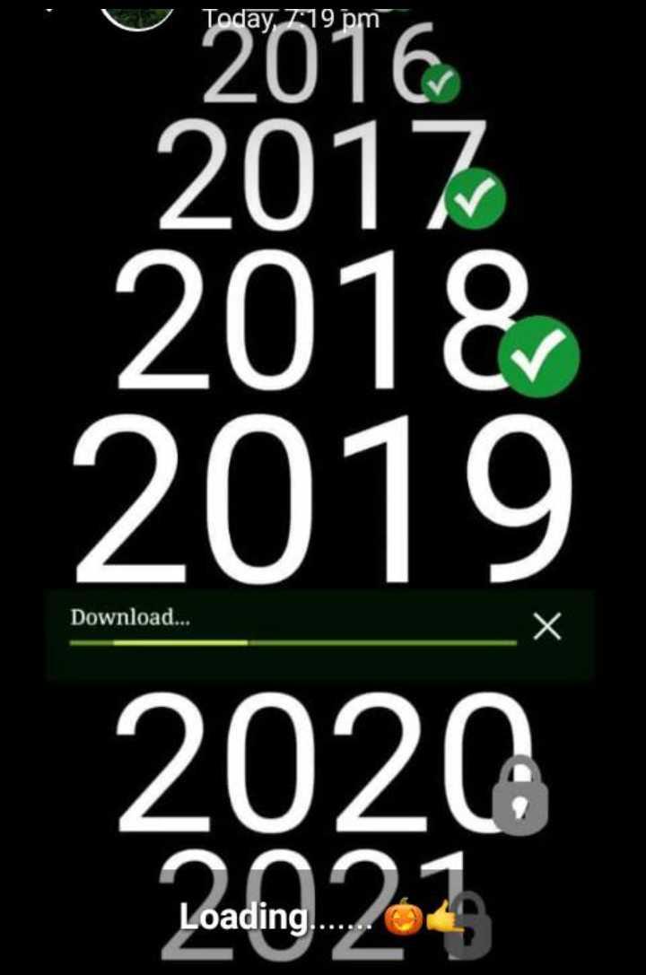 🥳️ പുതുവത്സരാഘോഷങ്ങൾ - U2016 Tode 7 : 19 pm 2017 2018 Download . . . 2020 During 22 Loading . . . - ShareChat