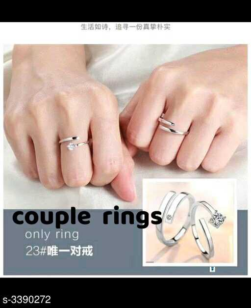 🛍️ Shop - 生活如诗 , 追寻一份真挚朴实 couple rings only ring 23 # 唯一对戒 | s - 3390272 - ShareChat
