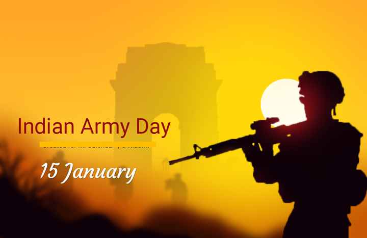 ⚔️ indian🇮🇳army ⚔️ - Indian Army Day 15 January - ShareChat