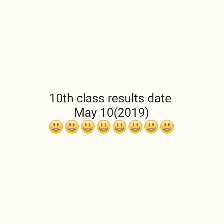 10th results - 10th class results date May 10 ( 2019 ) ☺☺☺☺☺☺☺☺ - ShareChat