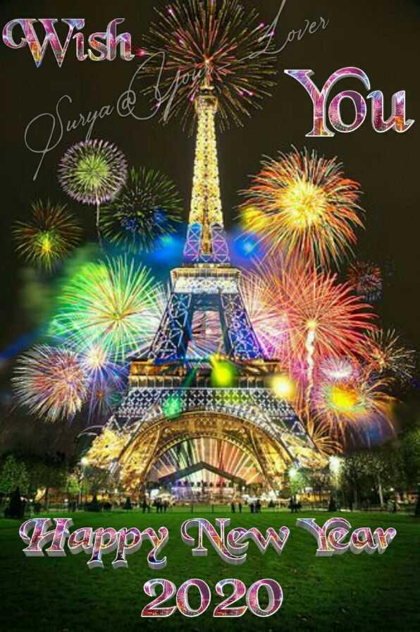 🎉 2020 ਦਾ ਪਹਿਲਾ ਦਿਨ 🎉 - Wish over out Surya & | Mappy New Year 2020 - ShareChat