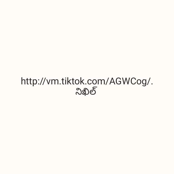 💔  లవ్ ఫెయిల్యూర్ - http : / / vm . tiktok . com / AGWCog / . నిఖిల్ - ShareChat