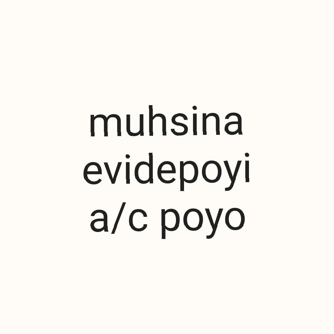 ഹൃദയരാഗം❤ - muhsina evidepoyi a / c poyo - ShareChat