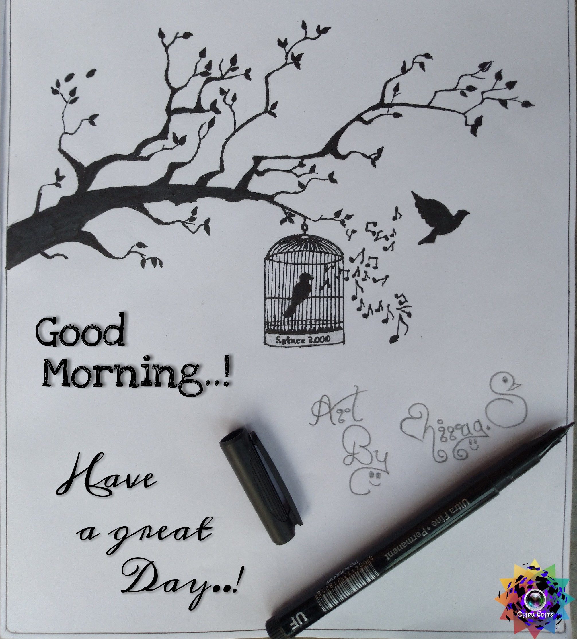 good morning 🙏 - UF CHIRU EDITS 81190 . 4 . 1 13112182581 R & D IN GERMANY Dayon ! Ultra Fine Permanent a great Have 230 Morning . . ! Good Seince 2000 - ShareChat