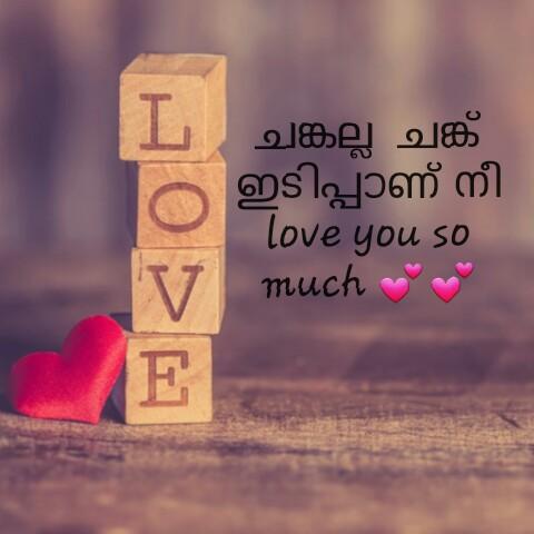💌 പ്രണയം - ചങ്കല്ല ചങ്ക് ഇടിപ്പാണ് നി love you so much mm - ShareChat