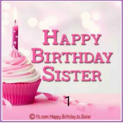🎉 हैप्पी न्यू ईयर 2020 - HAPPY BIRTHDAY SISTER © fb . com / Happy Birthday . to . Sister - ShareChat