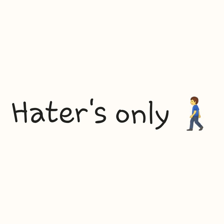.... - Hater ' s only - ShareChat