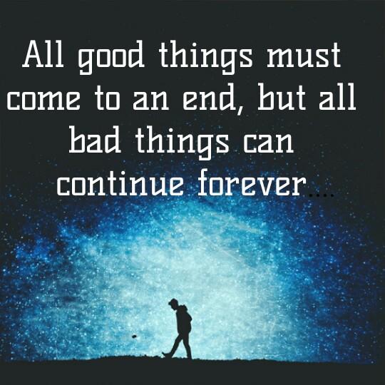 💑 സ്നേഹം - All good things must come to an end , but all bad things can continue forever - ShareChat
